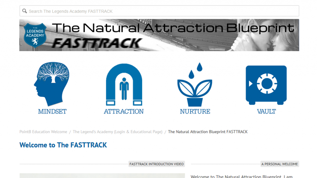Natural Attraction Blueprint Online